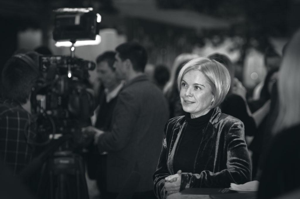 Mariella Frostrup Interviewed at the Nielsen Bestseller Awards
