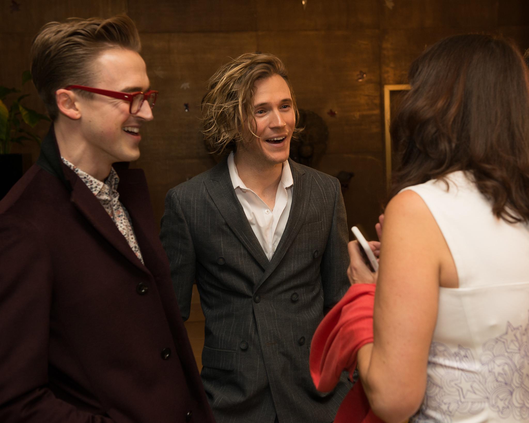 McFly's Tom Fletcher and Dougie Poynter at the Nielsen Bestselller Awards