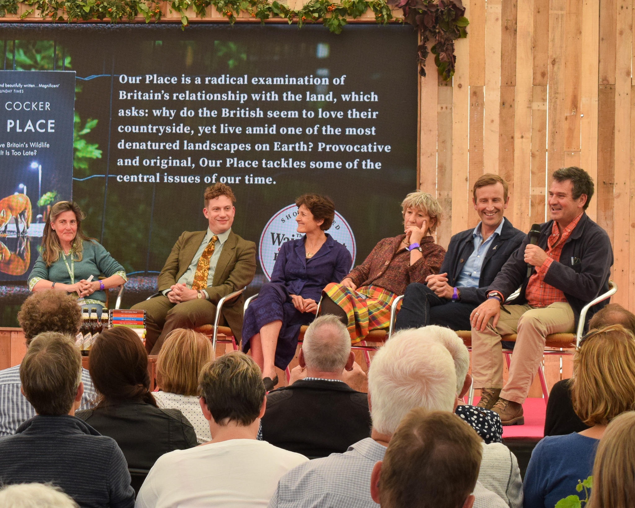 Panel Discussion at the Wainwright Prize with all shortlisted authors, Countryfile Live