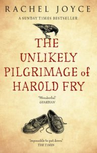 The Unlikely Pilgrimage of Harold Fry by Rachel Joyce, NB Book of the Year 2013