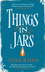 Things in Jars by Jess Kidd, NB Book Blogger's Choice Award Winner 2020
