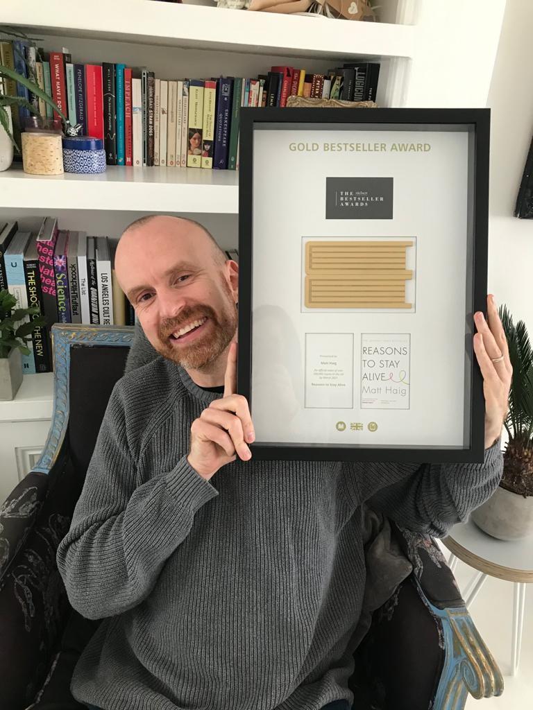 Matt Haig Nielsen Bestseller Award